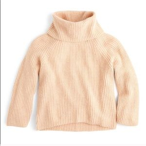 J CREW Point Sur Mohair Chunky Knit Turtleneck